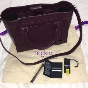 NWT Botkier Large Satchel with Long Strap